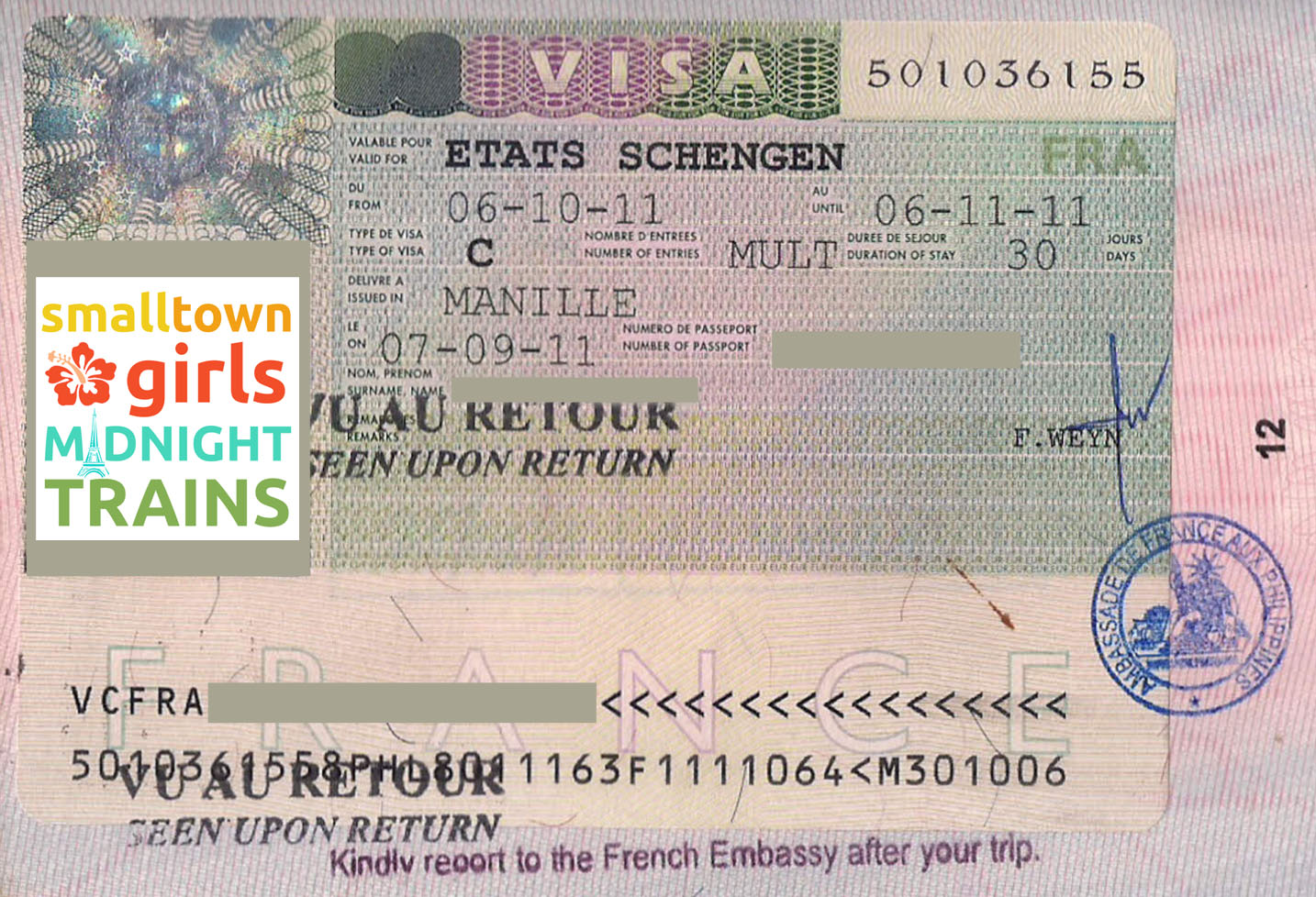 Getting A Schengen Visa At The French Embassy What You