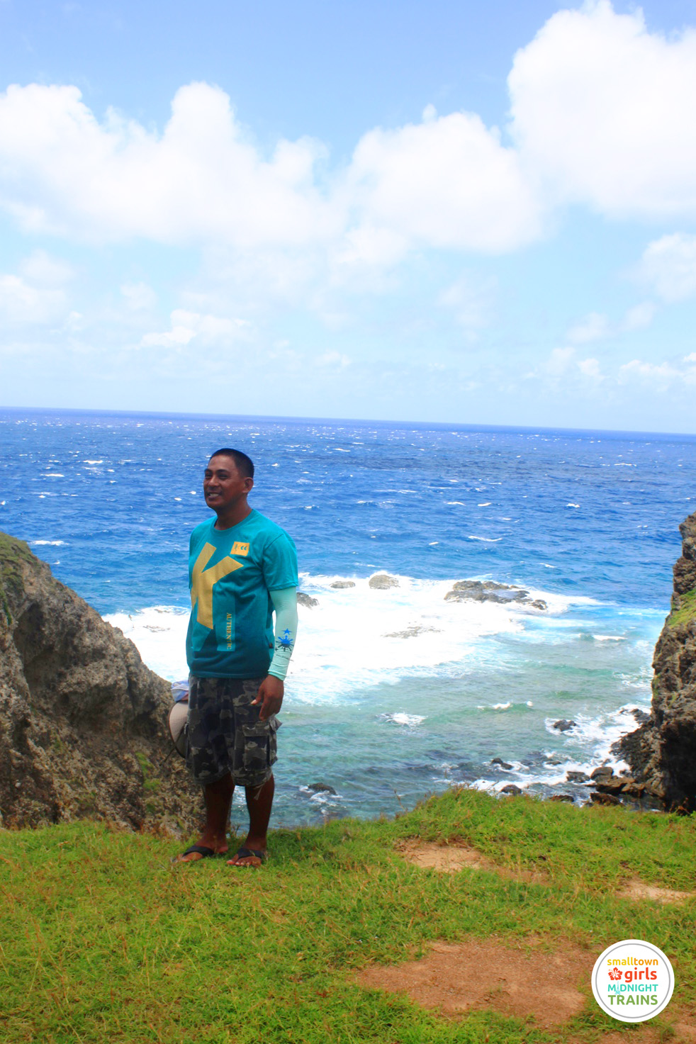 Romy Daroca, our tour guide in Batanes