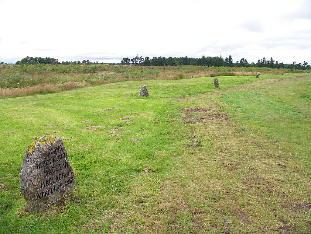 Clan grave stones at Culloden   Image by Shadowgate   CC BY 2.0