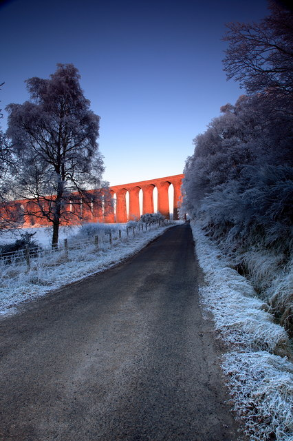 Culloden viaduct   Image by djmacpherson   CC BY-SA 2.0