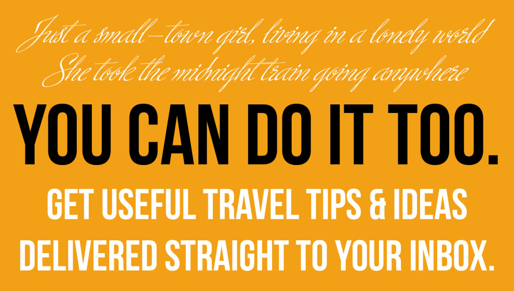 small-town girl travel_you can do it too