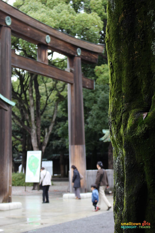 SGMT Japan Tokyo Meiji Shrine 07 entrance mother and son
