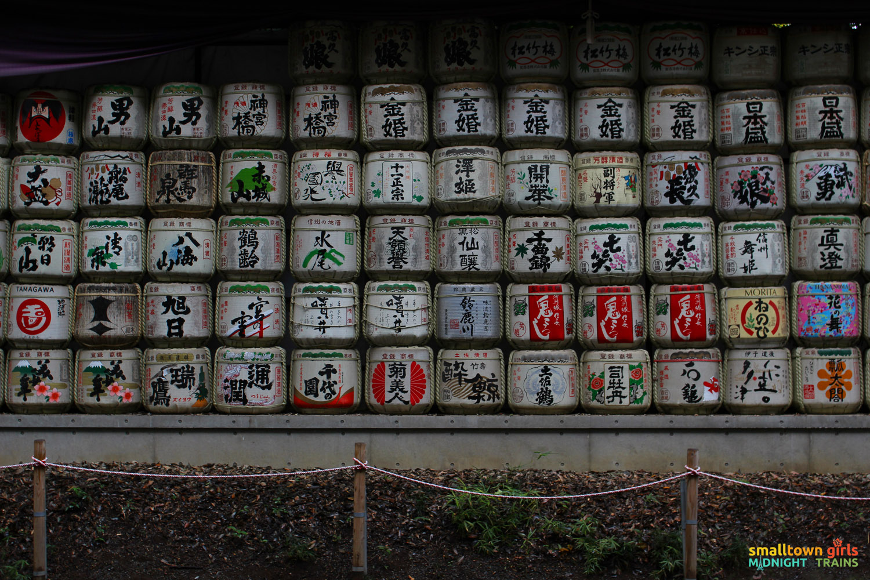 SGMT Japan Tokyo Meiji Shrine 11 sake casks