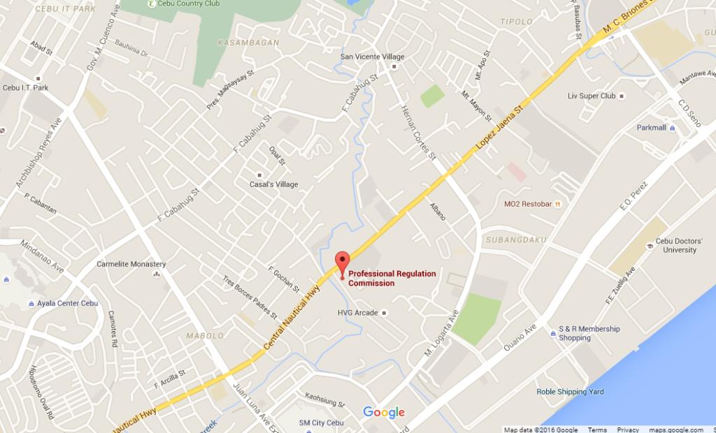 PRC Cebu