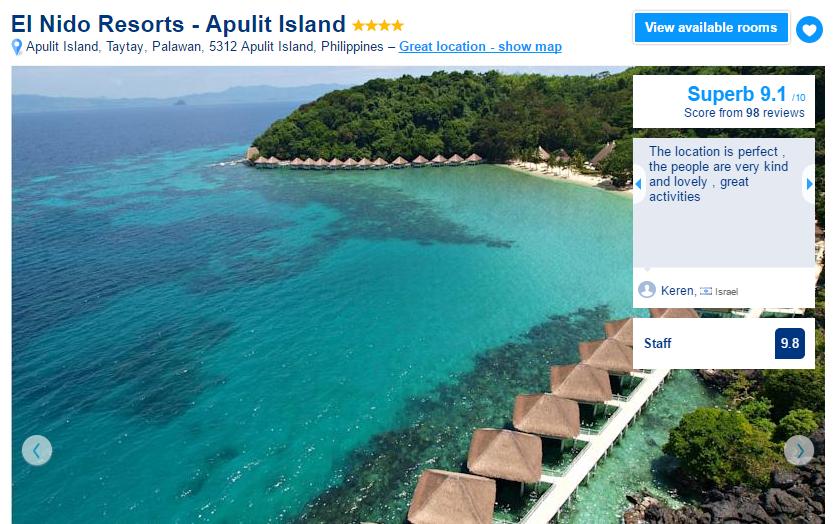 Where to stay in El NIdo - El Nido Resorts Apulit Island