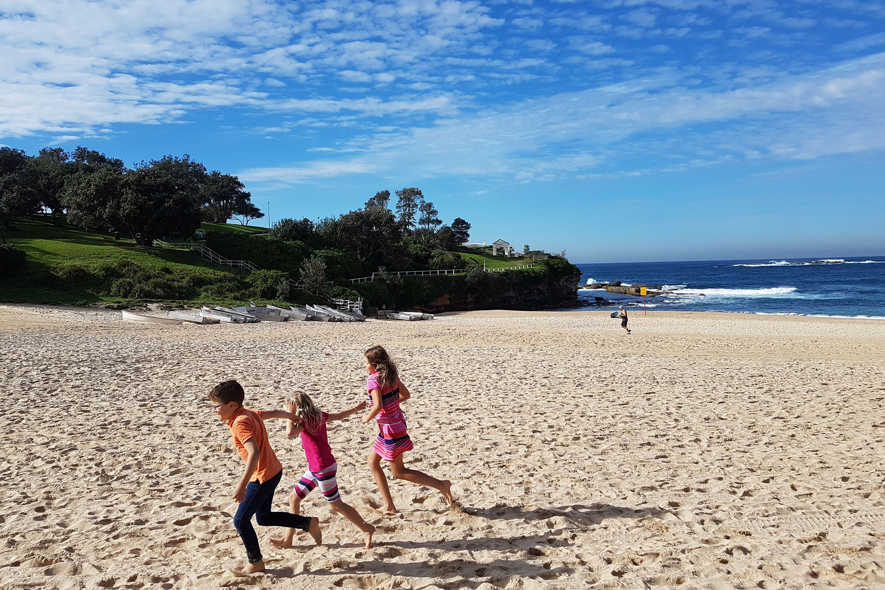 SGMT Australia Sydney_Bondi to Coogee Coastal Walk_05 Coogee Beach Children Playing
