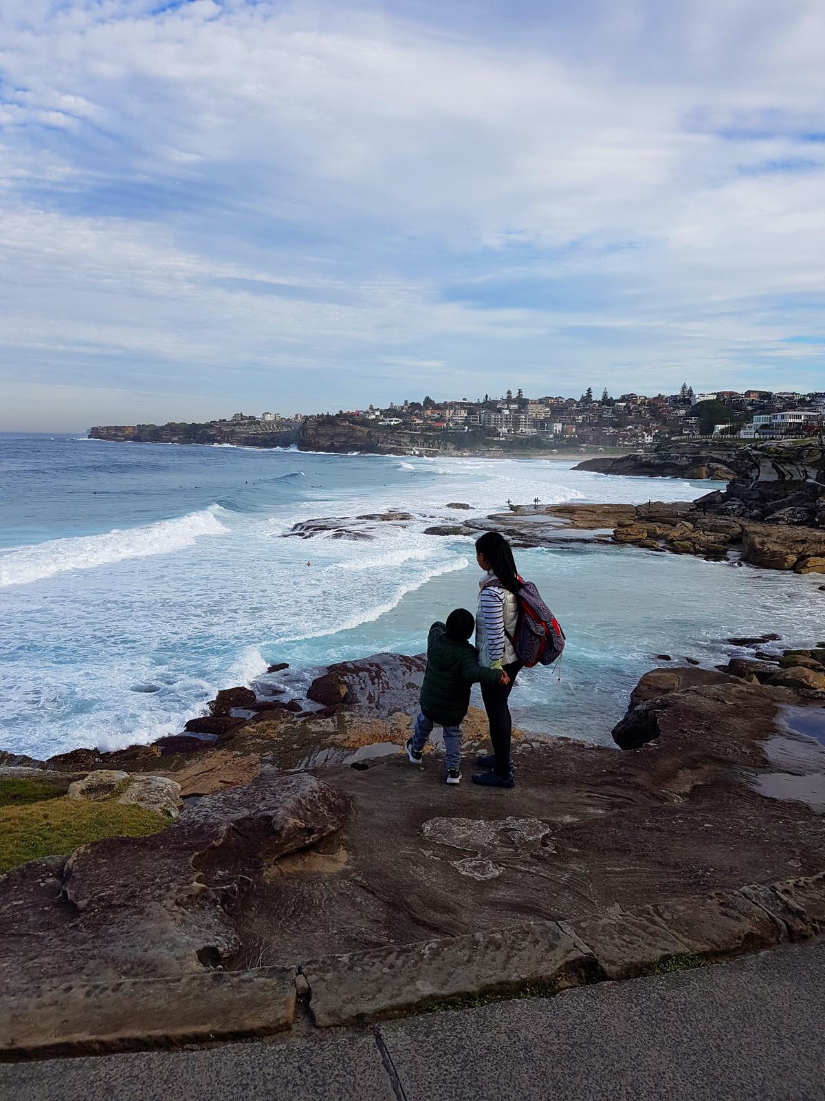 SGMT Australia Sydney_Bondi to Coogee Coastal Walk_28 Cliffs Tamarama Beach Bondi Beach L and A