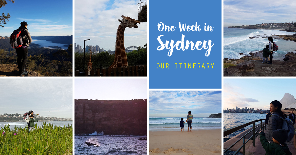 SGMT _ One Week in Sydney _ Our Itinerary